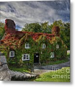 Country Cafe Metal Print