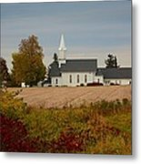 Country Church Metal Print