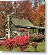 Country Cottage II Metal Print