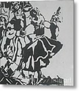 Country Dance Metal Print