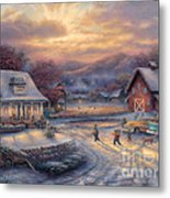 Country Holidays Metal Print