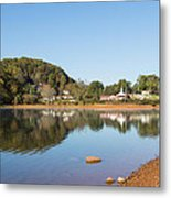 Country Lake Scene Metal Print