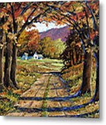 Country Livin  Metal Print
