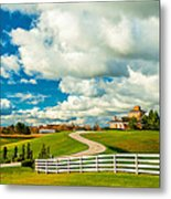 Country Living Painted Metal Print