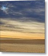 Country Morning Sky Metal Print