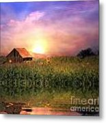 Country Paradise Metal Print