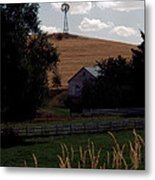 Country Peace Metal Print
