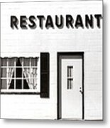 Country Restaurant Metal Print