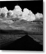 Country Road Metal Print by Cat Connor