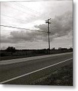 Country Road II Metal Print