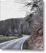 Country Road Take Me Home Photo Metal Print