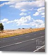 Country Road Metal Print by Tim Hester