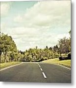 Country Road Metal Print by Tom Gowanlock