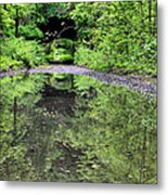Country Roads In The City Metal Print by JC Findley