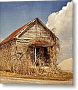 Country Schoolhouse  Metal Print