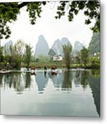Country Side In Southern China Metal Print