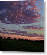 Country Sky Metal Print by Jame Hayes