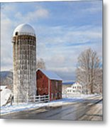 Country Snow Metal Print by Bill Wakeley