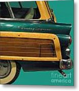 Country Squire Wagon Metal Print