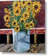 Country Still Life Metal Print