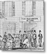 Country Store, 1847 Metal Print