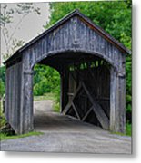 Country Store Bridge 5656 Metal Print