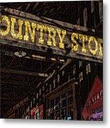 Country Store Metal Print