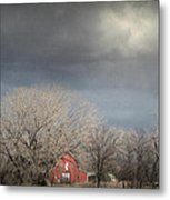 Country Storms.. Metal Print by Al  Swasey