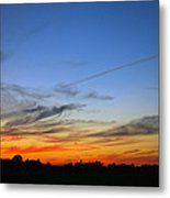 Country Sunset Metal Print