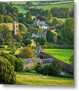Country Village - England Metal Print