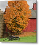 Country Wagon Metal Print