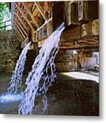Country Waterfall Metal Print