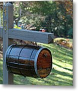 Countryside Mailbox #10 Metal Print