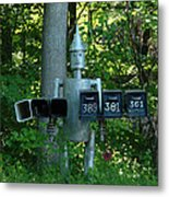Countryside Mailbox #11 Metal Print