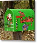 Countryside Mailbox #15 Metal Print