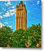 County Courthouse Metal Print by Dan Quam