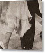 Couple Ballroom Dancing Legs Metal Print