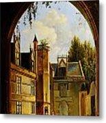 Cour Hotel De Cluny Mnma Cl23879 Metal Print