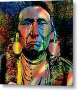 Courage Chief Joseph Metal Print