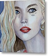 Courage To Cry Metal Print
