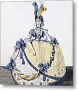 Court Dress, Fig. 106 From The Gallery Metal Print