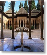 Court Of The Lions Metal Print