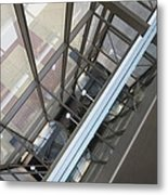 Courthouse Arcitecture Metal Print