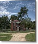 Courthouse At Appomattox Court House Metal Print by Stephen Gray