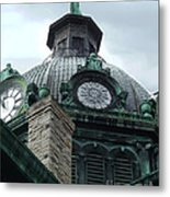 Courthouse Dome In Binghamton Ny Metal Print