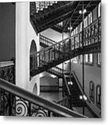 Courthouse Staircases Metal Print