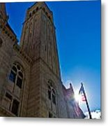 Courthouse Tower Metal Print