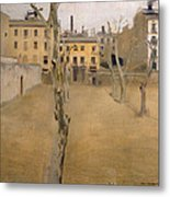 Courtyard Of The Old Barcelona Prison. Courtyard Of The Lambs Metal Print