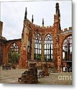 Coventry Cathedral 6003 Metal Print
