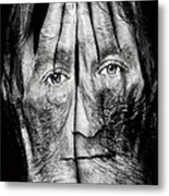Cover Thy Faces Metal Print